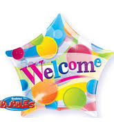 big plastic balloons bargain balloons welcome back 2fwelcome mylar balloons and foil