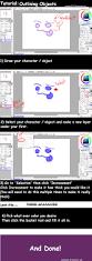 paint tool sai tutorial outlining by ayelakoa22 on deviantart