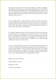 examples of cover letters college students sample in recent grad
