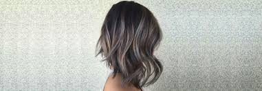 Colour Trend hair colour trend ash balayage hair colour bebeautiful