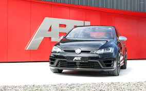 volkswagen golf wallpaper black 2014 abt volkswagen golf mk7 front view wallpaper car