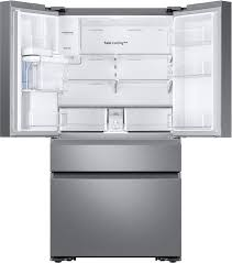samsung 22 6 cu ft 4 door french door counter depth refrigerator