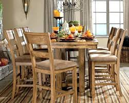 country style table and chairs rustic counter height dining table sets mailgapp me