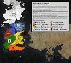 Essos Map A Mapped History Of A Song Of Ice And Fire Songs And Fandom