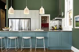 kitchen cabinet paint ideas kitchen cabinet color design painted ideas freshome green blue