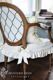 Dining Chair Covers With Arms 246 Best French Country Chair Covers Images On Pinterest Chair