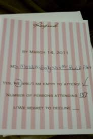 Sample Rsvp Cards What You Should And Absolutely Shouldn U0027t Include On Your Wedding