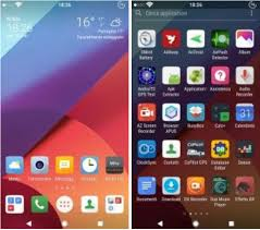 download themes for android lg install lg g6 inspired xperia theme with icons pack