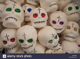 sugar skulls for sale sugar skull candy on sale for day of the dead festival guanajuato
