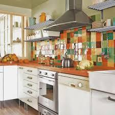 Beautiful Backsplashes Kitchens by Colorful Backsplash Tiles For Kitchens Homesfeed