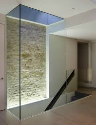 glass walls contemporary interior architecture elements that are cool and