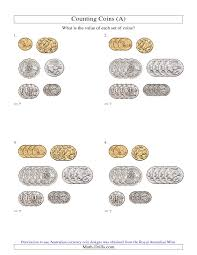 Counting Coins Worksheet Generator 19 Best Images On Australian Teaching