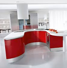 meuble cuisine arrondi cuisine italienne arrondie pedini artika porto venere
