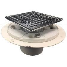 4 pvc shower pan drain shower tray recessed bathroom shelf