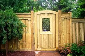 Wood Gate Designs Craftsman Fence Gate  Gorgeous Wood Fence - Backyard gate designs