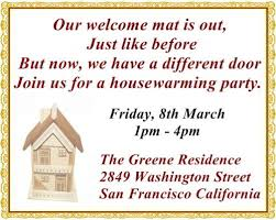 Ceremony Card Wording The Most Pleasantly Perfect Housewarming Invitation Wordings Ever