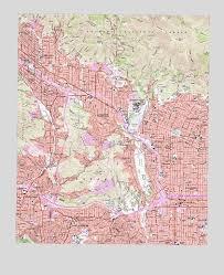 pasadena ca map pasadena ca topographic map topoquest