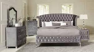 American Woodcrafters Cottage Traditions Deanna Upholstered Platform Bedroom Set Bedroom Sets Bedroom