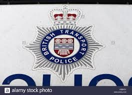 british transport police badge stock photo royalty free image
