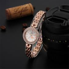 ladies watches bracelet style images Soxy fashion rose gold watch women watches luxury rhinestone jpg