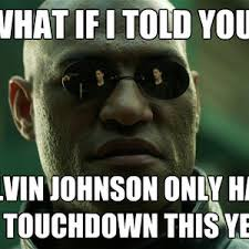 Calvin Johnson Meme - calvin johnson 1 touchdown by jp715 meme center