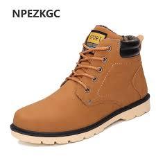 aliexpress com buy npezkgc men leather boots autumn winter high