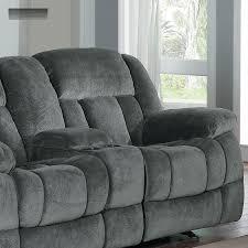 Grey Rocking Recliner Harbortown Sofa And Loveseat Best Home Furniture Decoration