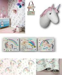 accessories for bedroom rainbow unicorn pretty bedroom room glitter wallpaper matching
