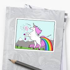 unicorns sneeze glitter and rainbows