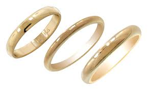 the goods wedding band solid yellow gold wedding bands groupon goods