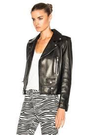classic motorcycle jacket saint laurent classic motorcycle jacket in black save 71 lyst