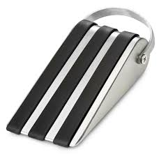 decorative door stops amazon com deltucci door stop door stopper with modern door