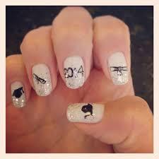 graduation nails nails fun pinterest classy nails makeup