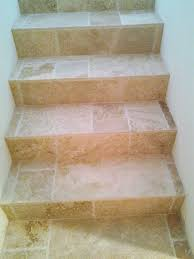 Travertine Floor Cleaning Houston by Design Gallery Tile Stairs Travertine Tile And Travertine