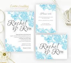 light blue wedding invitations wedding invatations lemonwedding