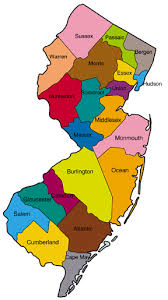 jersey area code map plan for additional area code in jersey announced south