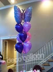 butterfly balloons balloon centerpieces my deco balloon