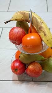 fruit bowl fruit banana kaki apple free images imaiges