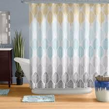 Blue Grey Curtains Unthinkable Teal And Gray Shower Curtain Aqua Wayfair Save To Idea Board Paisley Curtains Grey Jpg