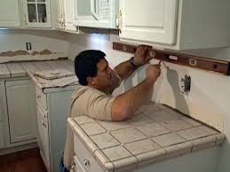 Installing A Backsplash In Kitchen by Install Tile Over Laminate Countertop And Backsplash How Tos Diy