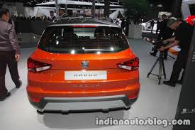 seat arona rear at iaa 2017 indian autos blog