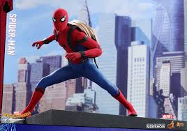 spider man marvel spider man sixth scale figure by toys sideshow