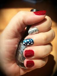 16 diy memorial day nails red white blue nails inspiration