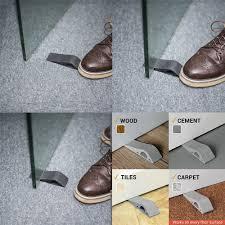door stopper amazon u0026 2 pack magnetic door stop stainless steel