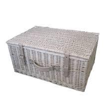 storage hampers wicker pineapple storage basket hamper the green