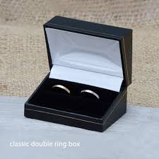 box rings images Classic double ring box wooden double ring box for wedding ring jpg