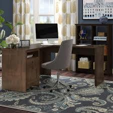 T Shape Desk Andover Mills Coalton 3 L Shape Desk Office Suite Reviews