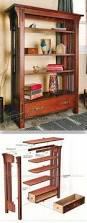 Mission Bookcase Plans 391 Best Woodworking Plans Furniture Images On Pinterest