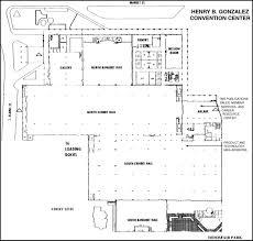 san antonio convention center floor plan 28 henry b gonzalez convention center floor plan