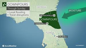 tropical downpours may raise risk of flash flooding in florida